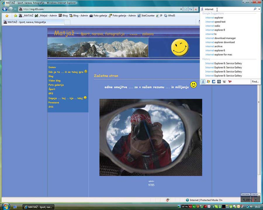 Internet explorer 8.0