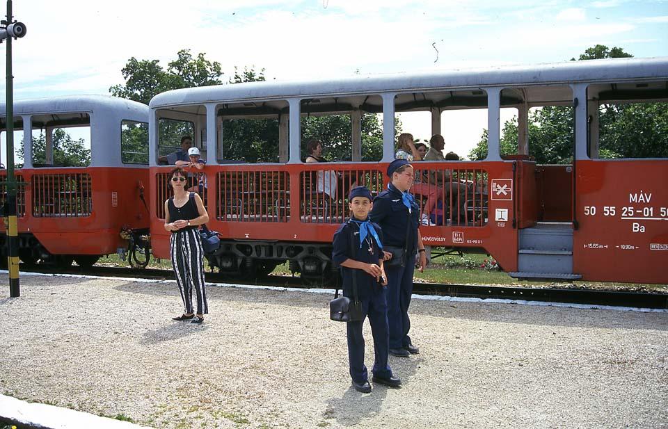 Budimpešta - otroška železnica - 1997
